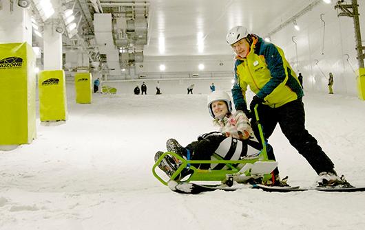 Snozone Disability Snowsports Private Snowboard Lesson