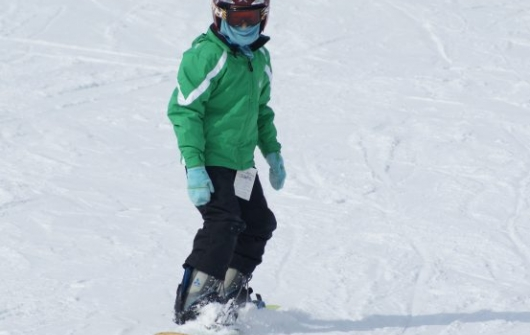 Snowboard Lesson Level 5