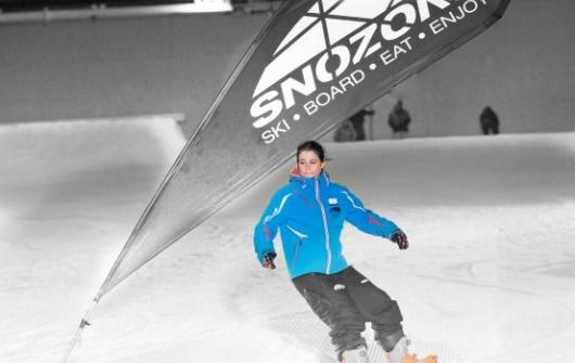 Snowboard Lesson Level 4