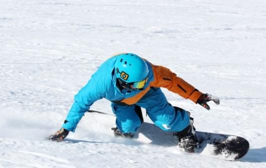 Snowboard Lesson Level 6